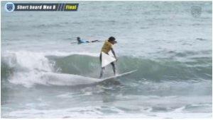 全日本学生サーフィン選手権 / メンB決勝 / 2019年10月20日 / ハイライト