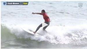 全日本学生サーフィン選手権 / フレッシュウィメン決勝 / 2019年10月20日 / ハイライト