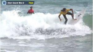 全日本学生サーフィン選手権 / メンA決勝 / 2019年10月20日 / ハイライト
