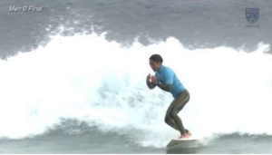 UNIVAS CUP2020-21 / 秋季全日本学生サーフィン選手権 / MenB決勝 / 2020年12月6日 / ハイライト